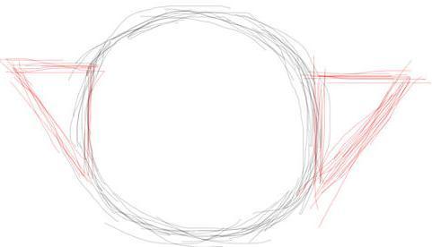 Рисуем чайник - шаг 2