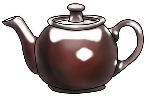 Рисуем чайник - шаг 6