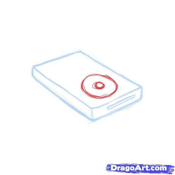 Рисуем iPod - шаг 3