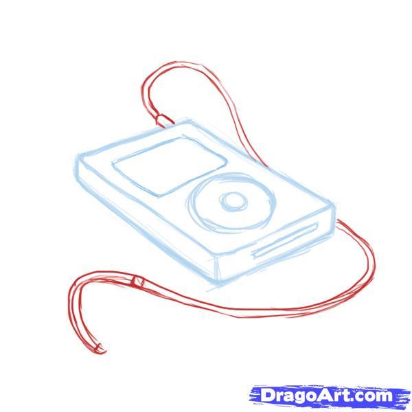 Рисуем iPod - шаг 5