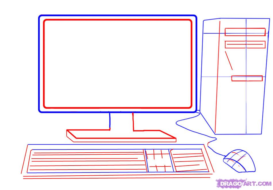 Подборка смешных, нарисовать открытку на компьютере просто