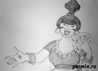 Фото Атаманшу из мультфильма Бременские музыканты