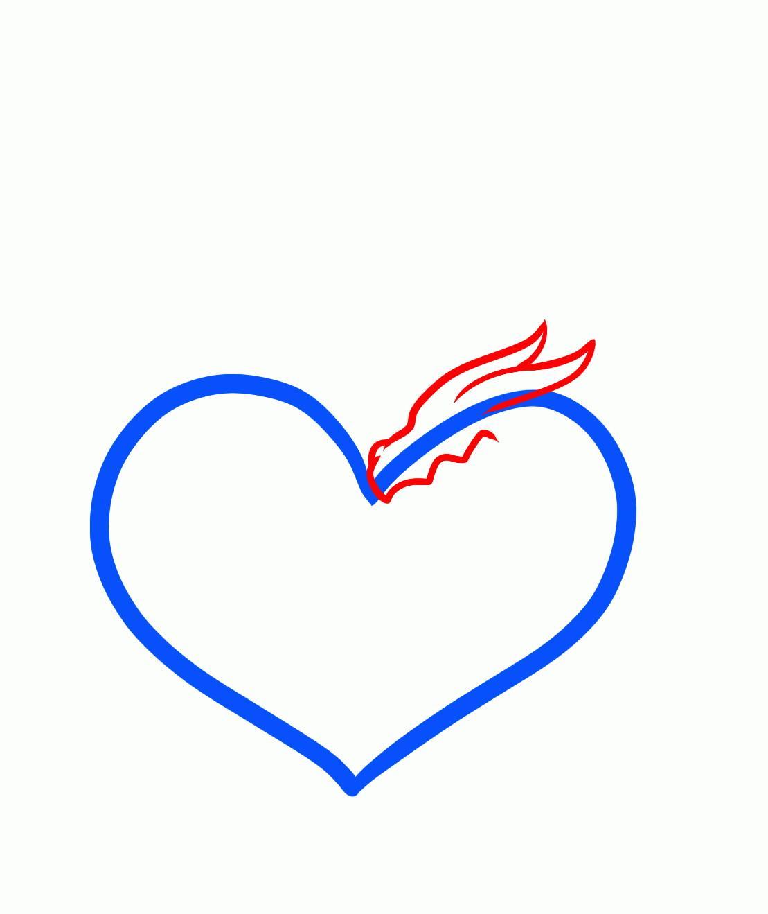 Сердце картинки нарисовать