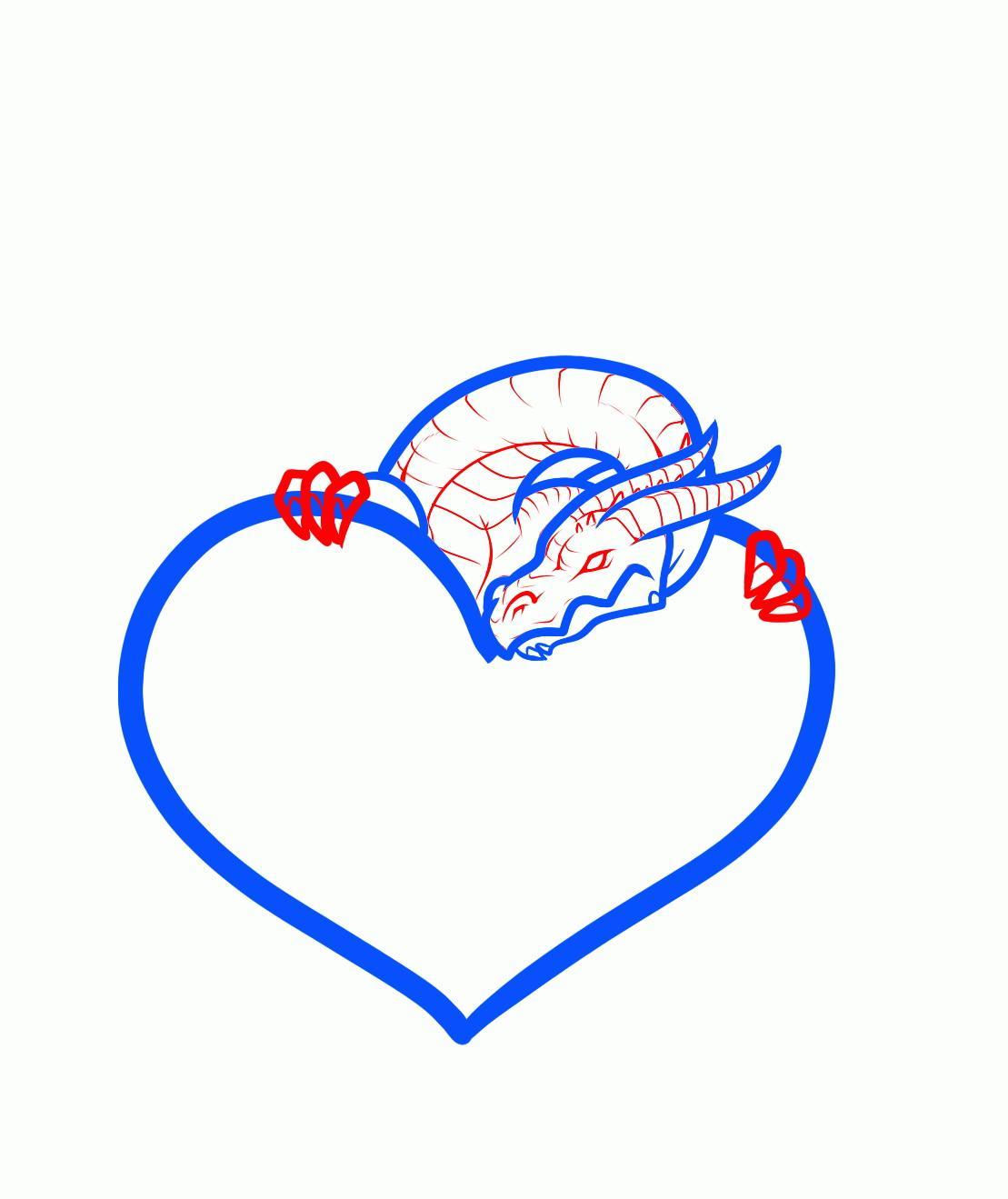 комментариям картинки как нарисовать красивое сердечко терьер лучшие