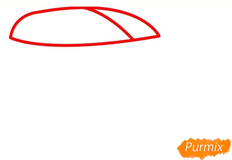 Рисуем мазерати - шаг 1