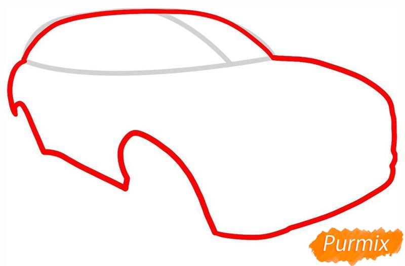 Рисуем мазерати - шаг 2