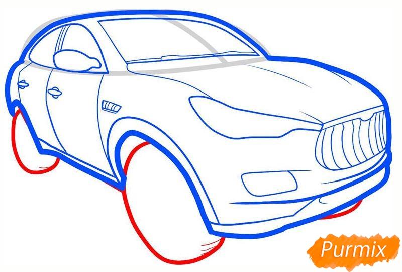 Рисуем мазерати - шаг 5