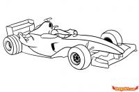 автомобиль формулы F1