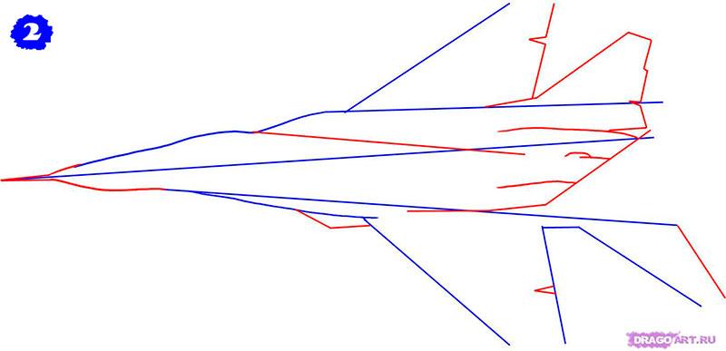 Рисуем истребительF-14