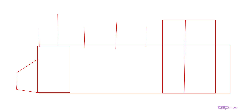 Рисуем Паровоз - шаг 1
