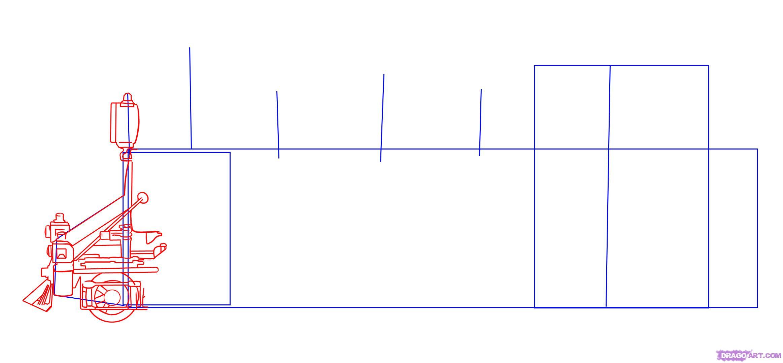 Рисуем Паровоз - шаг 2