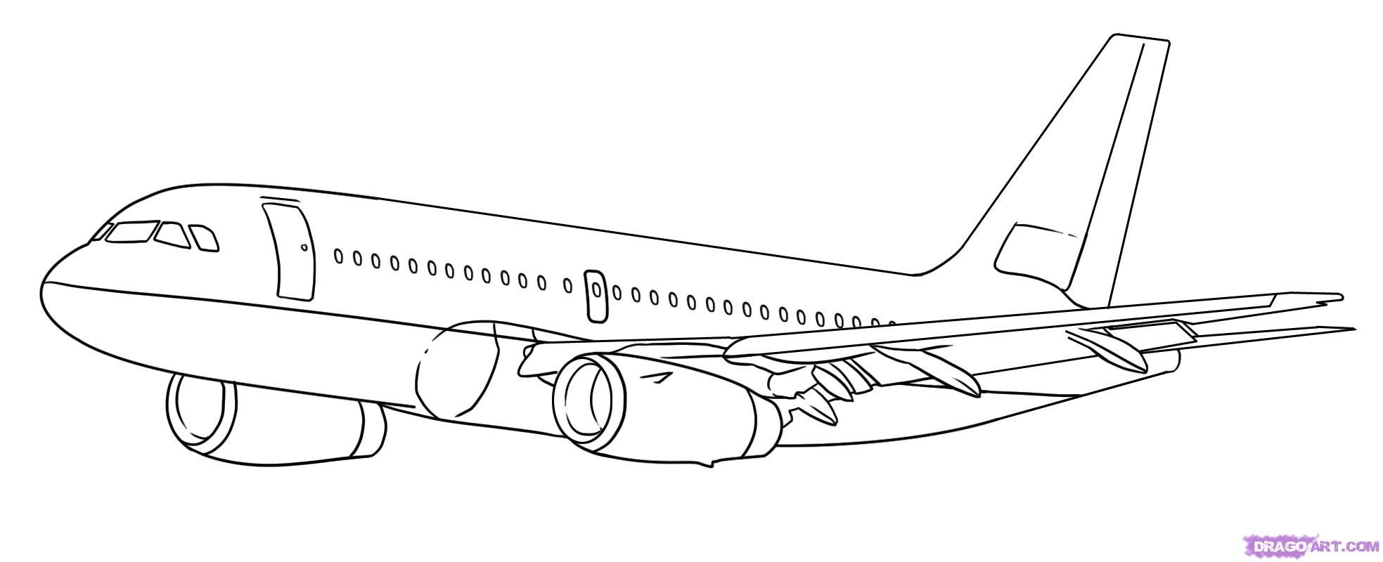 Рисуем самолет Боинг 787 - шаг 6
