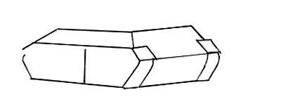 Учимся рисовать танк Т-34 и Т-34-85 - шаг 1