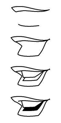Рисуем лицо Блум вполоборот - шаг 11