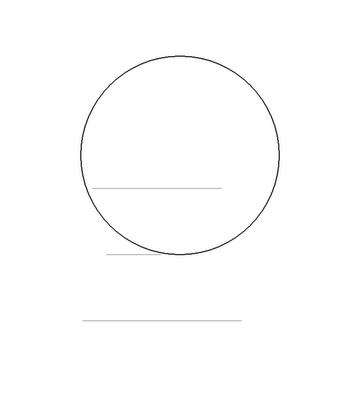 Рисуем лицо Блум вполоборот - шаг 2