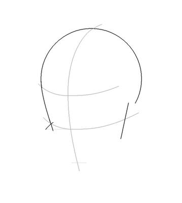 Рисуем лицо Блум вполоборот - шаг 5