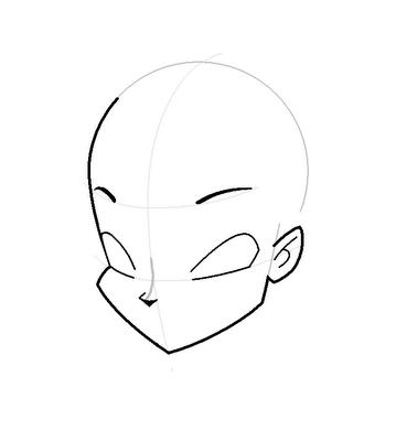 Рисуем лицо Блум вполоборот - шаг 8
