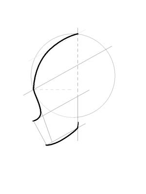 Рисуем лицо Блум в профиль - шаг 10