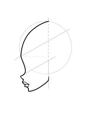 Рисуем лицо Блум в профиль - шаг 11
