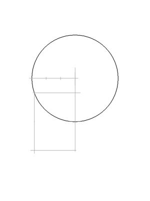 Рисуем лицо Блум в профиль - шаг 5