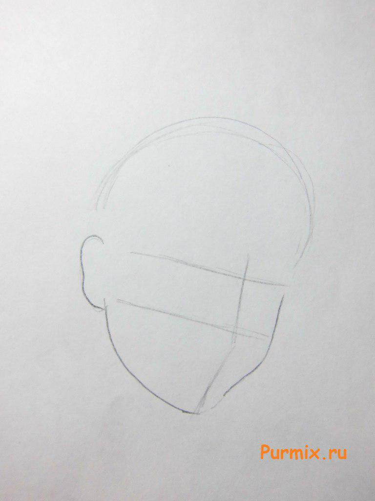 Рисуем Стеллу в аниме стиле - шаг 1