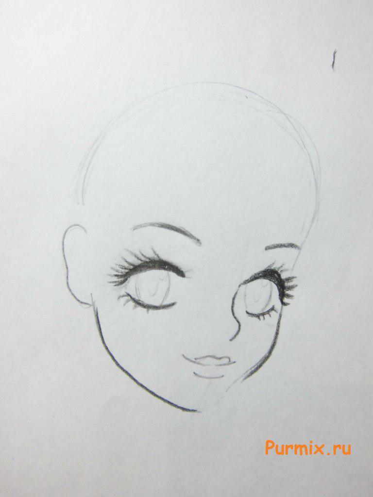 Рисуем Стеллу в аниме стиле - шаг 2