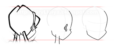 Рисуем Винкс со спины - шаг 3