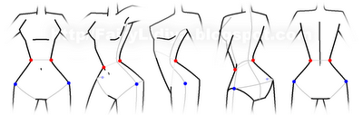 Рисуем Винкс со спины - шаг 7