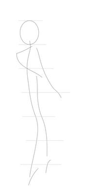 Рисуем Винкс   для начинающих - шаг 2