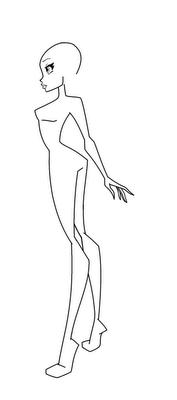 Рисуем Винкс   для начинающих - шаг 8