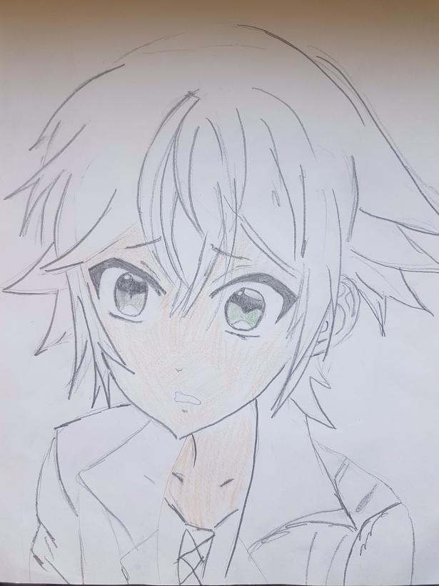 Рисунки аято из аниме